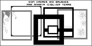 Brushes by Anarya Icon-cadres